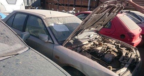 סנסציוני מכירת רכב לחלקי חילוף - משלמים במזומן על כל רכב ישן XU-18