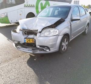 רכב לאחר תאונה לפירוק